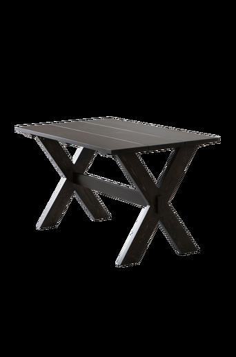 NYKULLA-pöytä 80x140 cm Mustanruskea