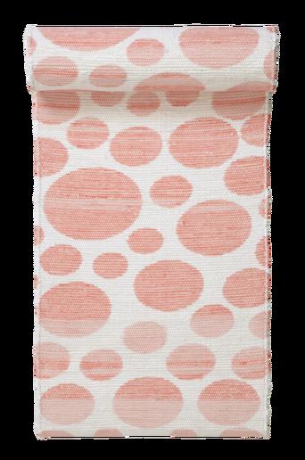 VENEDIG-räsymatto 70x200 cm Valkoinen/roosa