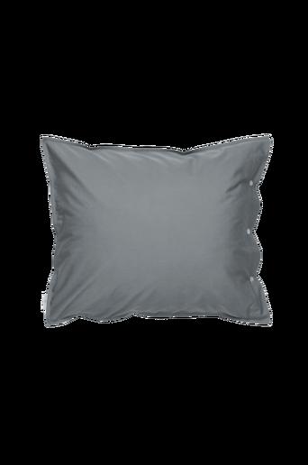 PERCALE-tyynyliina 60x50 cm Harmaa/tummanharmaa