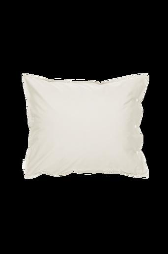 PERCALE-tyynyliina 60x50 cm Valkoinen/hopeabeige