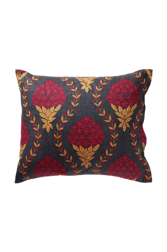 CEASAR-tyynyliina 60x50 cm Tummanpunainen