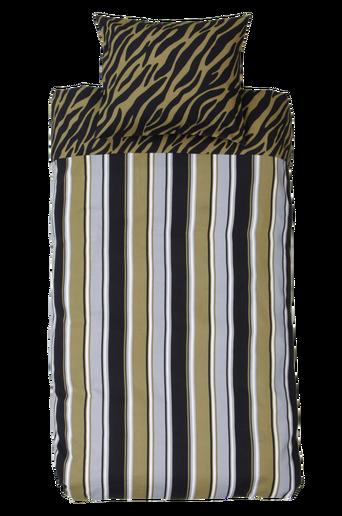 ZEBRARAND-pussilakanasetti, 2 osaa Khakinvihreä/musta