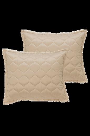 LOIRE-tyynynpäälliset, 2/pakk. 60x50 cm Beige
