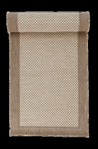TOSCANA-bukleematto 80x200 cm Ruskea/vaaleanruskea