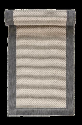 TOSCANA-bukleematto 80x200 cm Antrasiitinharmaa/harmaa
