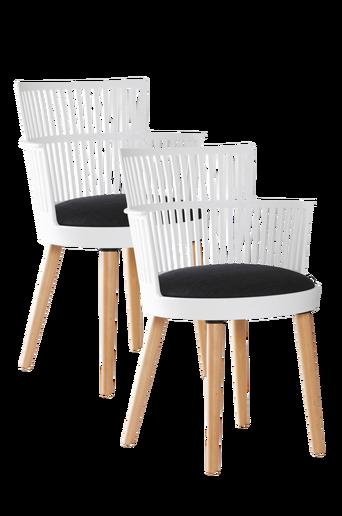 GETINGE-tuolit, 2/pakk. Valkoinen