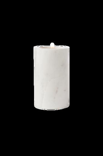 NJORD-kynttiläkuppi – pyöreä Valkoinen 9,5