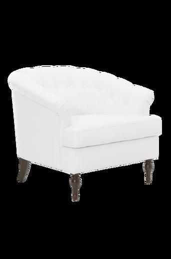 PORTLAND-nojatuoli Valkoinen