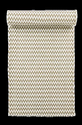 RHO-puuvillamatto 70x150 cm Valkoinen/beige
