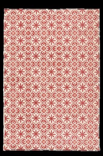 LIGNANO-puuvillamatto 130x190 cm Roosa
