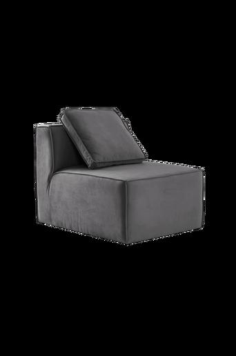 BALTIMORE-sohvamoduuli, pieni. Selkänoja + 1 tyyny Harmaa
