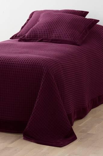 DIYA-päiväpeite kapeaan sänkyyn 180x260 cm Luumuliila