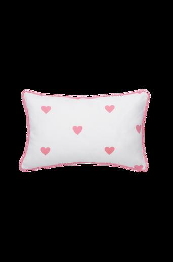 Ekologinen SWEETHEART-tyynynpäällinen 50x30 cm Roosa