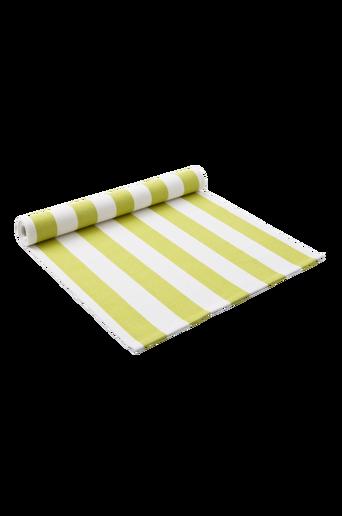DUKA RAND -kaitaliina –raidallinen Limenvihreä/valkoinen