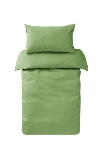 Ekologinen ZACK KIDS -pussilakanasetti, 2 osaa Vihreä
