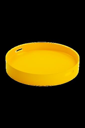 FÄRGHEM bricka ø 60 cm Gul thumbnail
