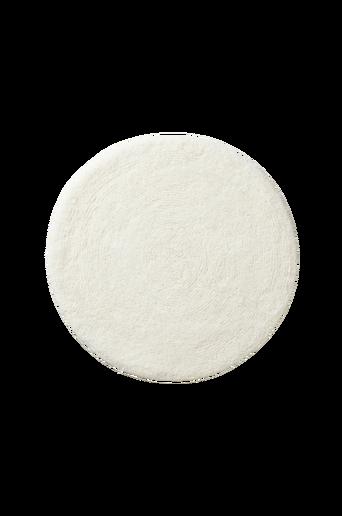 EMMA-kylpyhuonematto ø 60 cm Valkoinen