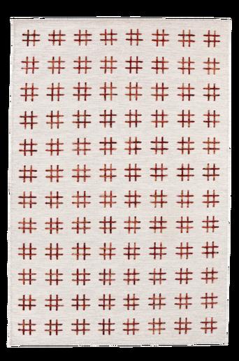 CATANIA-villamatto 140x200 cm Viininpunainen
