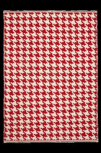 KROTONE-villamatto, 160x230 cm Punainen