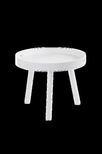 HILLTORP-sohvapöytä ø 60 cm Valkoinen