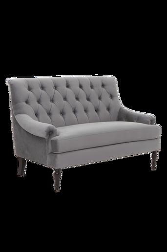 CHILL-sohva, 2:n istuttava Harmaa