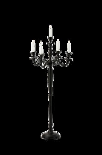 CANDELUX-kynttelikkö - keskikokoinen Musta