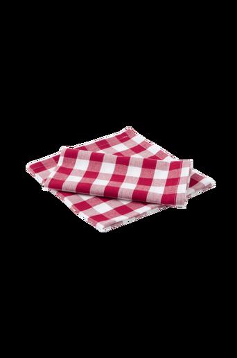 KLARA-lautasliinat, 2/pakk. Punainen