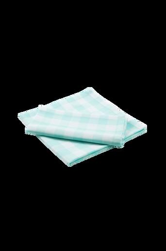 KLARA-lautasliinat, 2/pakk. Mintunvihreä