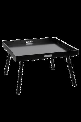 HILLTORP-sohvapöytä 80x80 cm Musta