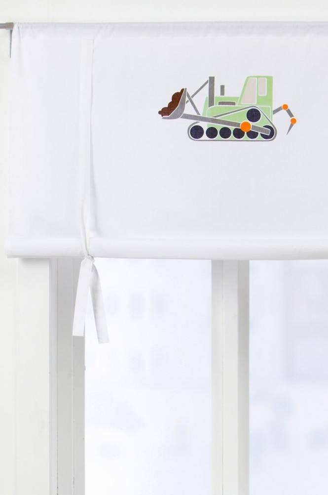 ALBIN roll up-gardin – ekologisk