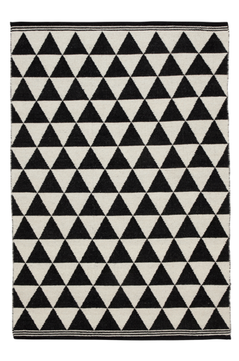 TERNI-villamatto 200x300 cm Musta