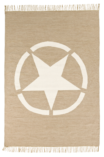 UDINE-puuvillamatto 160x240 cm Beige