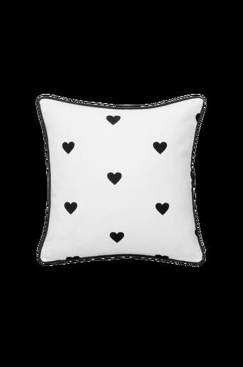 Ekologinen SWEETHEART-tyynynpäällinen45x45 cm Musta