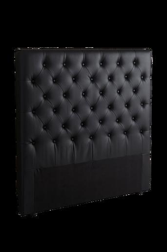 SKENE-sängynpääty 120 cm Musta