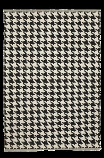 KROTONE-villamatto, 130x190 cm Musta