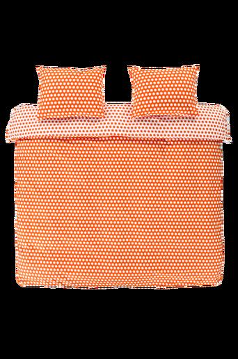 LISEN-pussilakanasetti, 3 osaa Oranssi/valkoinen