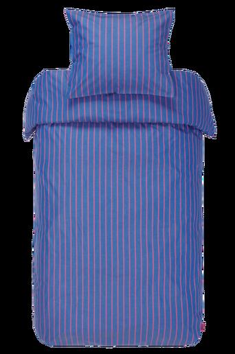 LENA-pussilakanasetti, 2 osaa – leveät raidat Roosa