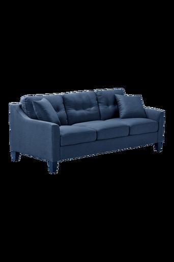 NEW ORLEANS -sohva, 2,5:n istuttava Sininen