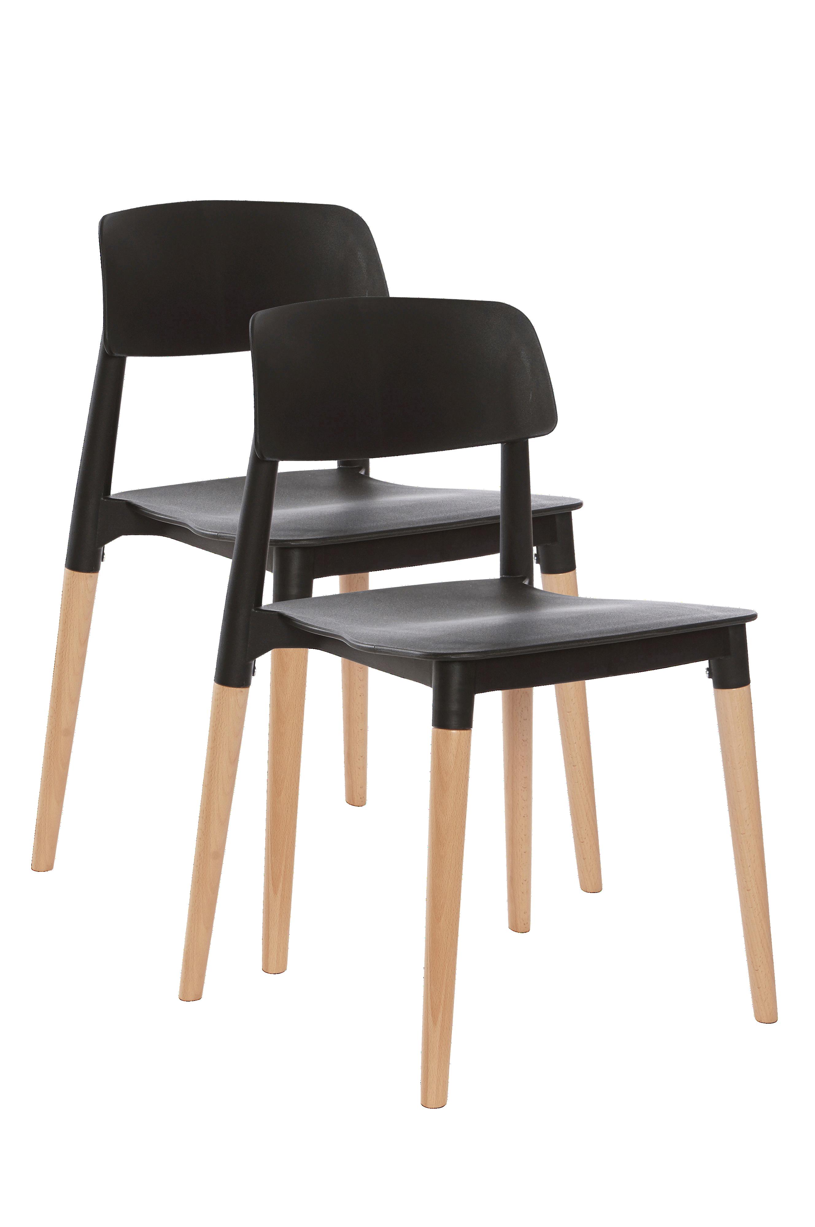 VÄBY stol 2 pk Svart Møbler Jotex