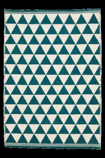 TERNI-villamatto 140x200 cm Petrolinsininen