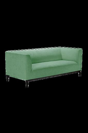 CLEVELAND-sohva, 2,5:n istuttava Vihreä