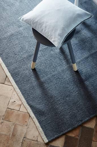 COMO-villamatto 160x230 cm Tummansininen