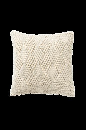 RUSTIK-tyynynpäällinen 50x50 cm Luonnonvalkoinen