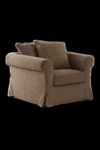 TRENTON-nojatuoli Myyränruskea