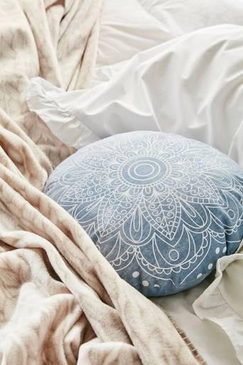 MISTY-koristetyyny ø38 cm Sininen
