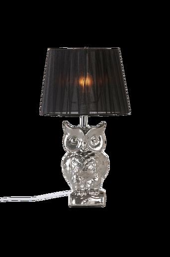 OWLY-pöytävalaisin Krominvärinen/musta