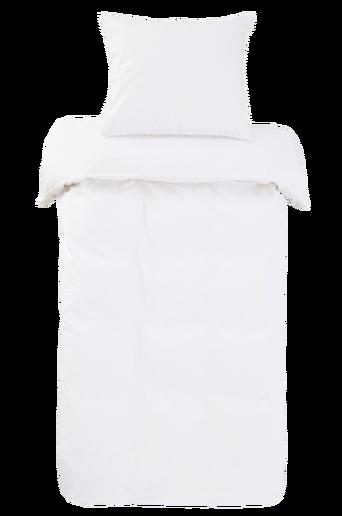 POM-pussilakanasetti, 2 osaa Valkoinen