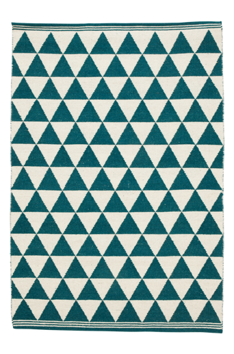 TERNI-villamatto 160x240 cm Petrolinsininen