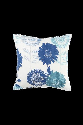 FLOWER PATCH -tyynynpäällinen 45x45 cm Sininen