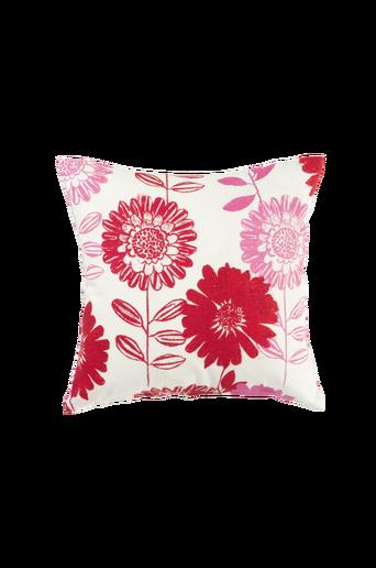 FLOWER PATCH -tyynynpäällinen 45x45 cm Punainen